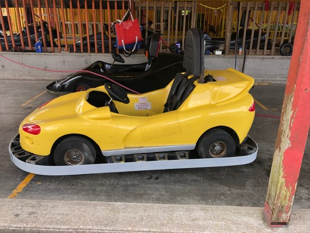 Yellow Go Kart