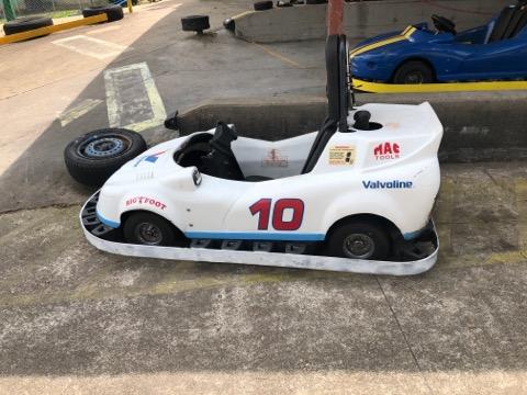 White Go Kart